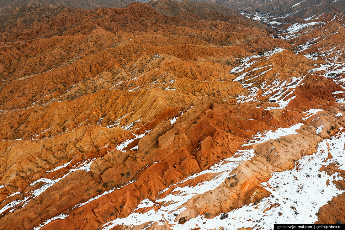 Зимний Кыргызстан Каньон Сказка
