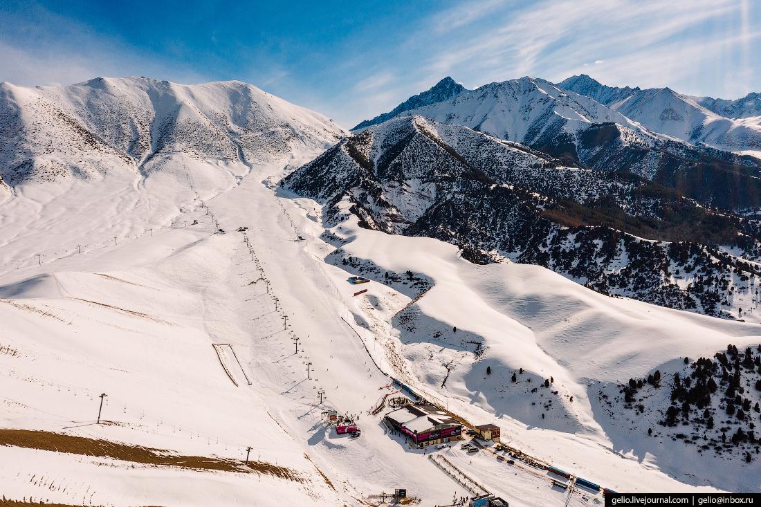 Зимний Кыргызстан Чынкурчак