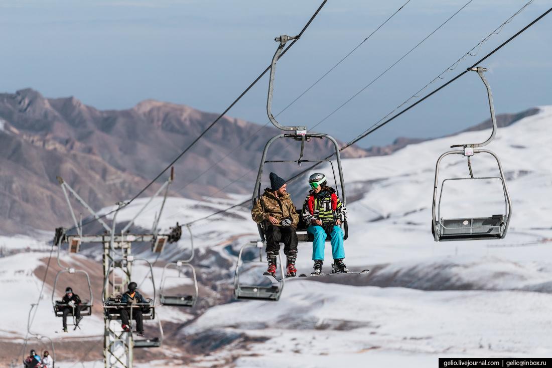 Зимний Кыргызстан Горнолыжная база ЗИЛ
