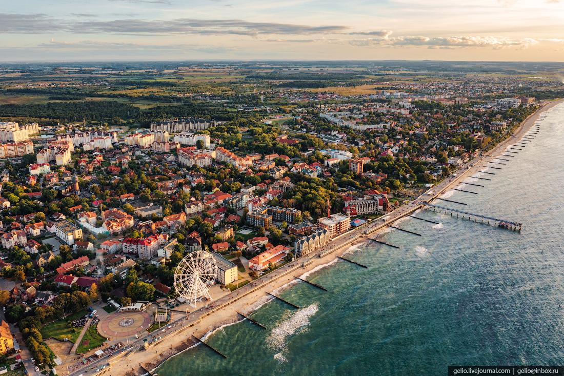 зеленоградск, курорт, балтийское море, променад, набережная