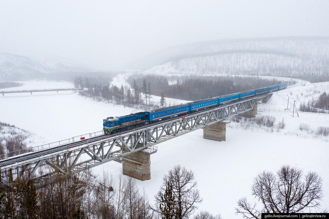 Железные дороги Якутии чульман
